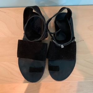 Free People Leather Sandle Size 36
